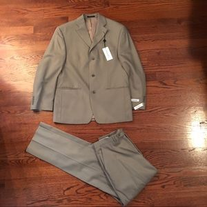 NEW with Tags Calvin Klein Men's 100% Wool Suit